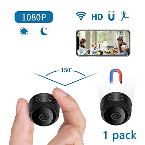 Futursd IP-camera met 1080p HD Mini Nanny Cams Night Vision Motion Detection