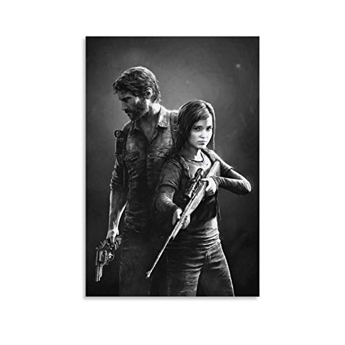 WUSOP The Last of US - Póster de lienzo (40 x 60 cm)