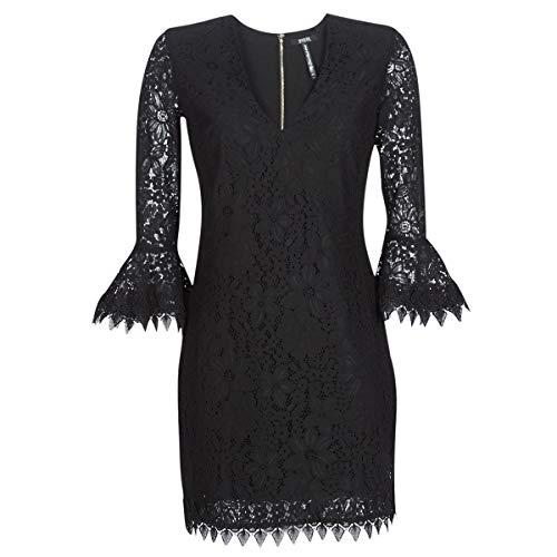 Guess Damen Larina Dress Kleid, Schwarz (Jet Black A996 Jblk), Small