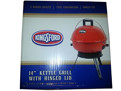 """Kingsford 14"""" Kettle Charcoal Grill with Hinge"""