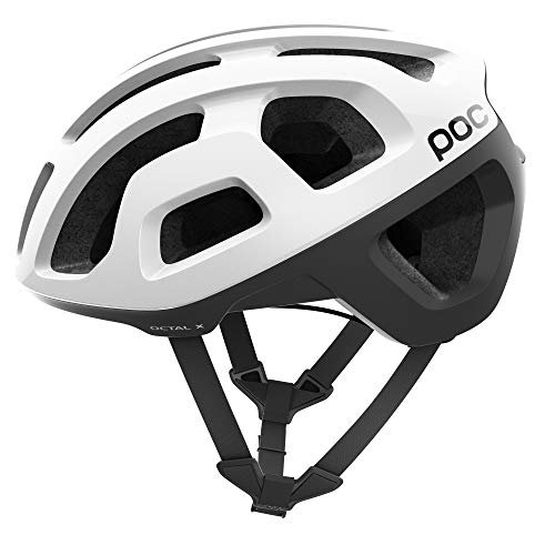 POC, Octal, Helmet for Road Biking, Hydrogen White, L