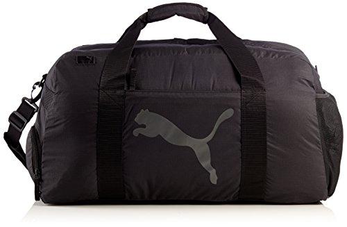PUMA, Borsa sportiva Training Sports Bag, Nero (Black-Dark Shadow)