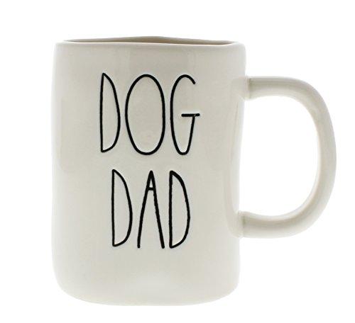 Rae Dunn by Magenta DOG DAD Ceramic LL Coffee Mug