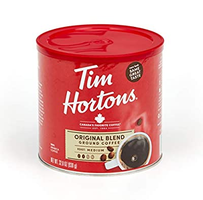Tim Hortons 100% Arabica Medium Roast Original Blend Ground Coffee