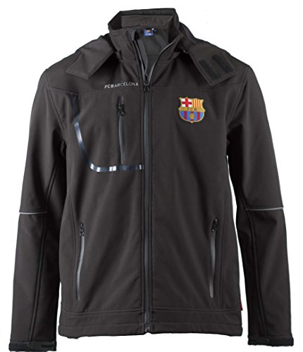 Fc Barcelone Veste Softshell Barça - Collection Officielle Taille Adulte Homme S
