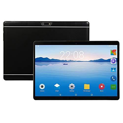 tablet PC de 10 Pulgadas Compatible con GPS Bluetooth WiFi HD Pantalla IPS PC Android Cámaras HD Delanteras y traseras Batería de Gran Capacidad