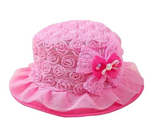 Chapeaux Filles Princesse Hat Fisherman Caps Visor Confortable Rose Chapeau
