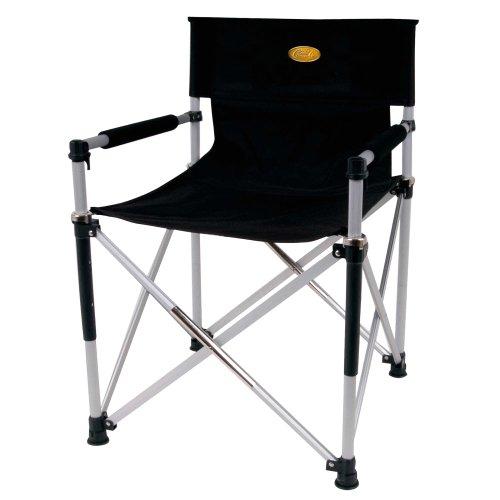 Camp 4 Faltstuhl Director\'s Chair Luxus, schwarz, 85 x 15 x 10