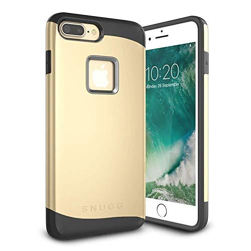 Snugg Cover iPhone 7 Plus Apple iPhone 7 Plus Custodia Case [Scudo Sottile] Protettiva Per Pelle – Oro, Infinity Series