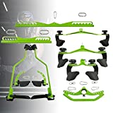 ZPCSAWA Triceps Bar, Multi Gym Accessories Cable Machine Attachments Home Gym Cable Attachment Exercise Machine for Beginners and Professional Sports Enthusiasts