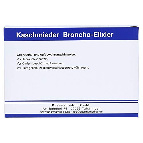 KASCHMIEDER Broncho Elixier Veterinary 6 x 18ml