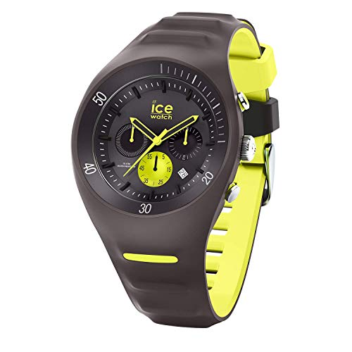 Ice-Watch - P. Leclercq Anthracite - Men's wristwatch with silicon strap - Chrono - 014946 (Large)