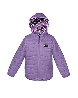 The Headlands Lightweight Puffer | Girls' Down Alternative Coat (X-Large, Purple)