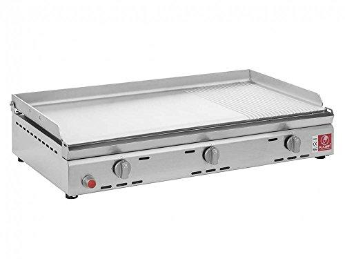Pla.Net GL80X L–Barbecue (8400W, Barbecue, propano/butano, Tavolo, Ferro, Acciaio Inox