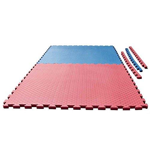 Ju-Sports Puzzlematte Checker 2 cm rot