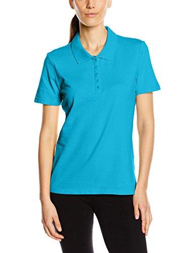 Stedman Apparel Damen Hanna (Polo)/ST9150 Poloshirt, Blau (Hawaii Blue), 44 (Herstellergröße: X-Large)