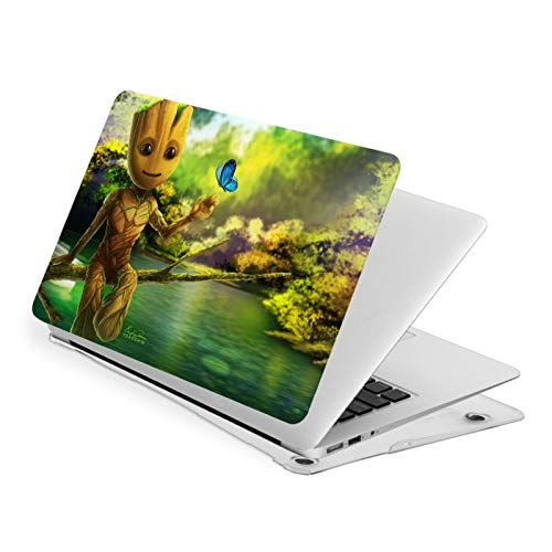 Groot Waterproof Pv Laptop Protector, Hard Shell Case with Bottom Cover Compatible with MacBook New Air13