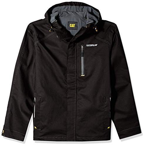 Caterpillar Men's H20 Waterproof Jacket, Black, L
