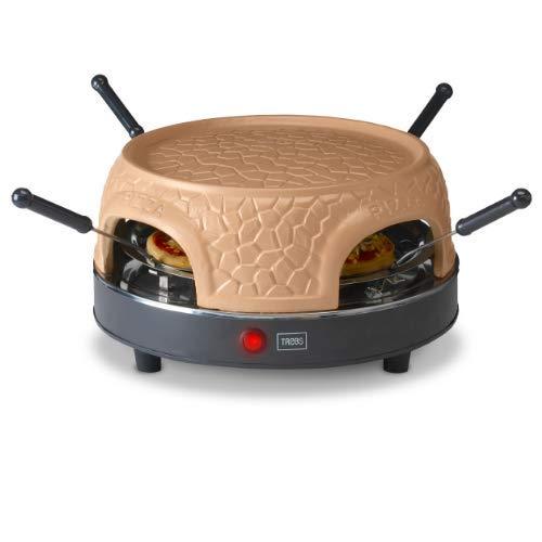 Trebs 99390 Pizzaofen für 4 Personen, Terracotta