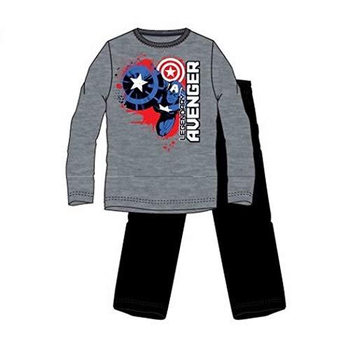 Pijama Manga Larga Capitán América Los...