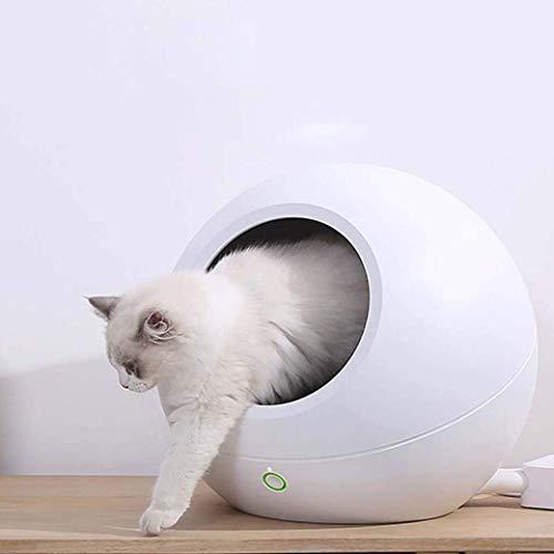 GH-YS Cat Kennels,Smart Bed & Breakfast Cat Beds,Cool & Warm Adjustable Nest...