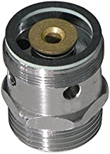 Sanitop-Wingenroth 17134 2 beluchter voor uitloopventiel 06205 3 met terugslagklep 3/4 inch x M28, messing verchroomd