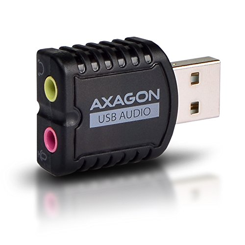 AXAGON ADA-10 - externe USB-geluidskaart, stereo audio mini-adapter
