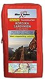 Tourenkarten Set Korsika Sardinien mit Alpes Maritimes (FolyMaps): 1:250 000 - Bikerbetten - TVV Touristik Verlag GmbH