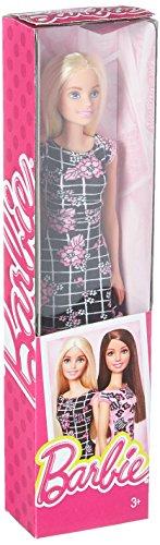 Mattel Barbie Trendy con Vestito Nero e Fiori