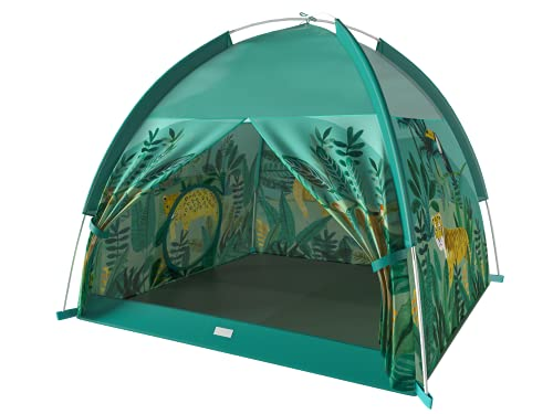 Eliteliving-s Kids Tents Indoor Children Play Tent for Kids Outdoor Camping Pop Up Tent- 48 x 48 x 42 inch for Lightweight Waterproof Breathable Tent(Forest Safari )