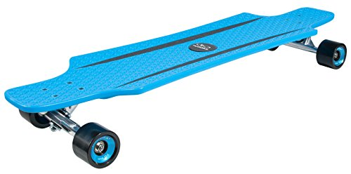 Hudora Kids' CruiseStar Longboard, Blue/Black, One Size