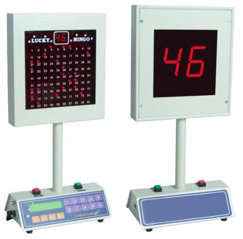 Lucky Bingo Deluxe Electronic Bingo Machine, [Importado de Reino Unido]
