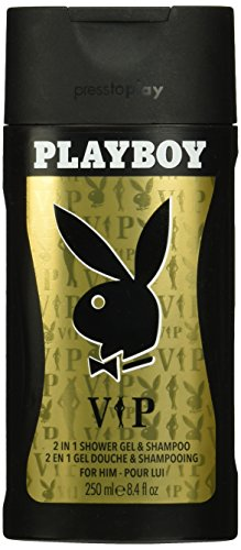 Playboy VIP 2in1 Shower Gel & Shampoo for Men, 250 ml