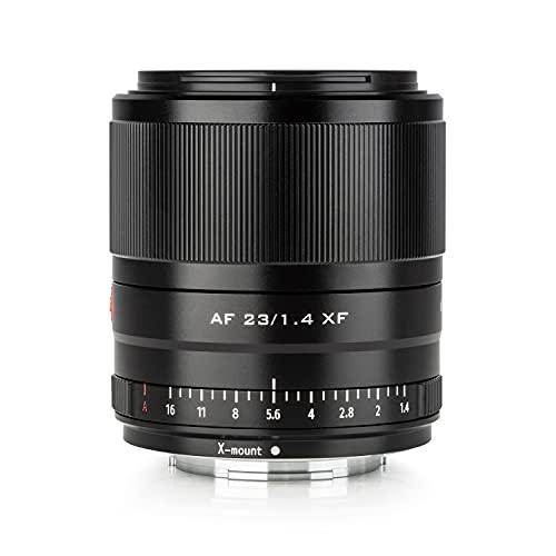 VILTROX 23mm f1.4 X mount autofocus APS-C Obiettivo della fotocamera Fuji, controllo ottico, grande apertura X-T1 X-T2 X-T3 X-T4 X-T10 X-T30 X-T100 X-T200 X -S10 X -A1 X-A2 X-A3 X-A5 X-A7 X-A7 A10