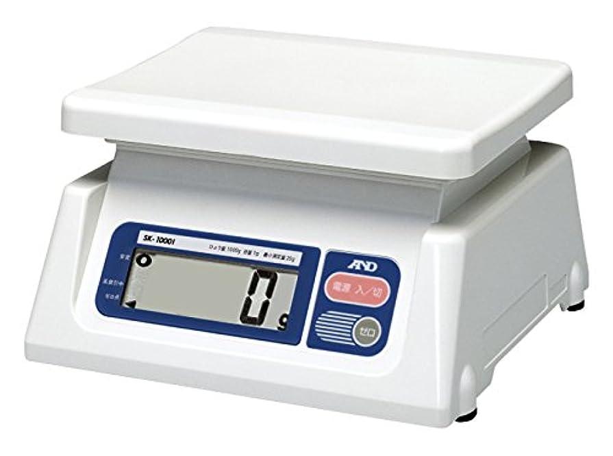平和的つぶすビンA&D 取引証明用 デジタルはかり SK-1000i-A3 ?ひょう量:1000g 最小表示:1g(使用範囲:20g~1000g) 皿寸法:230(W)*190(D)mm 検定付:3地域?