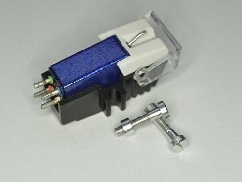 Blauwe diamant-cartridge en stylus met compatibele bevestigingsschroeven voor PANASONIC SL H305, SL H304, SL H203, platenspeler pickup, naald