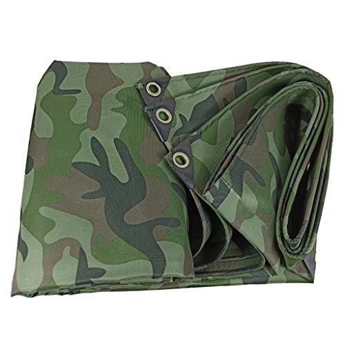 TRNCEE camouflage-afdekzeil voor zonnezeil, camping, auto, meubels, vloeren, camper, camper, zwembad of artikelen voor reparatie van het dak 3x4m