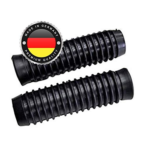 2 x Universal Schubkarrengriff   Griff   Schubkarre   Sackkarre   25 mm Schwarz   Karrengriff