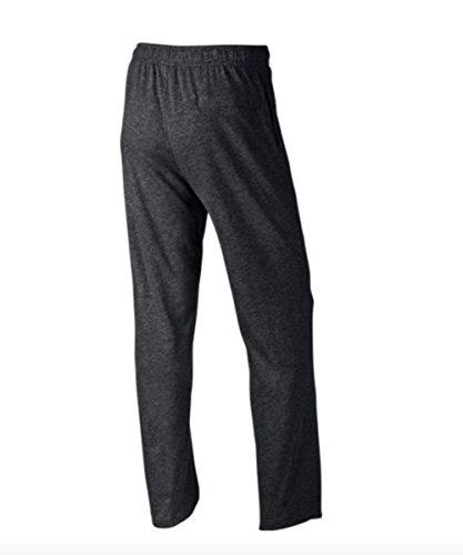 Nike Men's M Nsw Club Pant Oh Jsy Sport Trousers, Charcoal Heathr/White, Medium