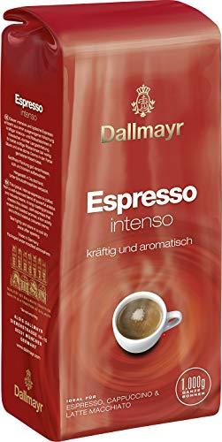 Dallmayr Espresso Intenso 8x1000g ganze Bohnen (8000g) - kräftig, aromatisch, typisch italienischer Kaffee