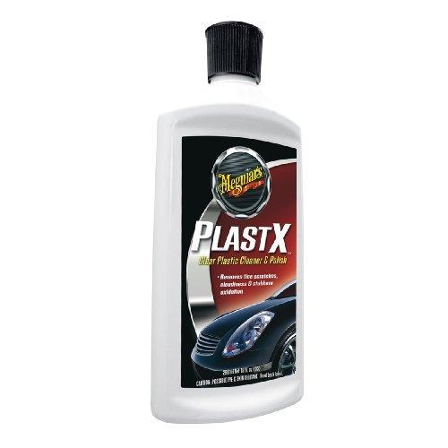 Meguiar's G12310 PlastX Clear Plastic Cleaner & Polish - 10 oz. Size: 10 oz