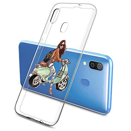 Suhctup - Carcasa de silicona para Samsung Galaxy S5 Mini / G800 (ultrafina, transparente, resistente a los golpes, blanda)