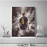 Refosian Toni Kroos Poster Leinwand Wandkunst Dekoration