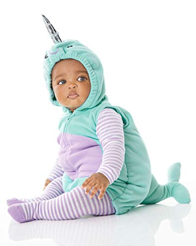 Carter's Baby Halloween Costumes (3-6 Months, Little Narwhal, Size 3-6 Months