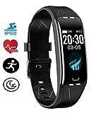 BIGFOX Fitness Tracker,Cardiofrequenzimetro da Polso,Orologio Fitness,Impermeabile IP68 Smartwatch Uomo Donna Bambini per Android iOS Telefono.