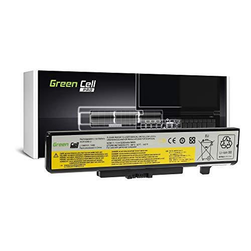 Green Cell® PRO Serie Batteria per Portatile Lenovo B580 B590 IdeaPad N580 P580 P585 Y580 Z580 (Le Pile Originali Samsung SDI, 6 Pile, 5200mAh, Nero)