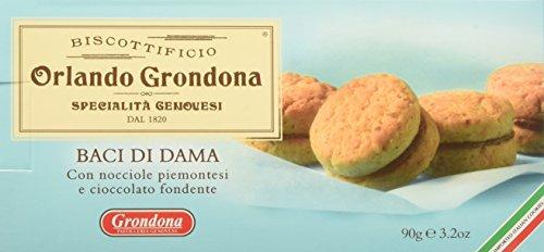 Biscottificio Grondona Baci di Dama - Astuccio da 90 g