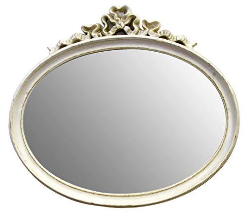 decoración selli Espejo de Pared Ovalada Color provenzal con diseño CM 50X 70