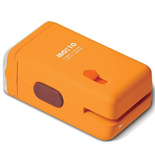 XGeek - Mini distruggidocumenti elettrico multifunzione per distruggi documenti da ufficio e casa (giallo)
