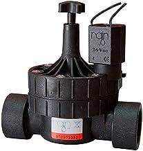 max 150 lt//min| Robusta e Durevole 1 Elettrovalvola Rain 1 FF con Solenoide 24 VAC MADE IN ITALY RN-156 Con Regolatore Di Flusso Per Sistemi Di Irrigazione| Portata Maggiorata min 30